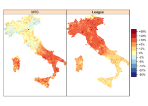 Local participation and not unemployment explains the M5S result in the South