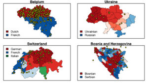 Political stability and the fragmentation of online publics in multilingual states