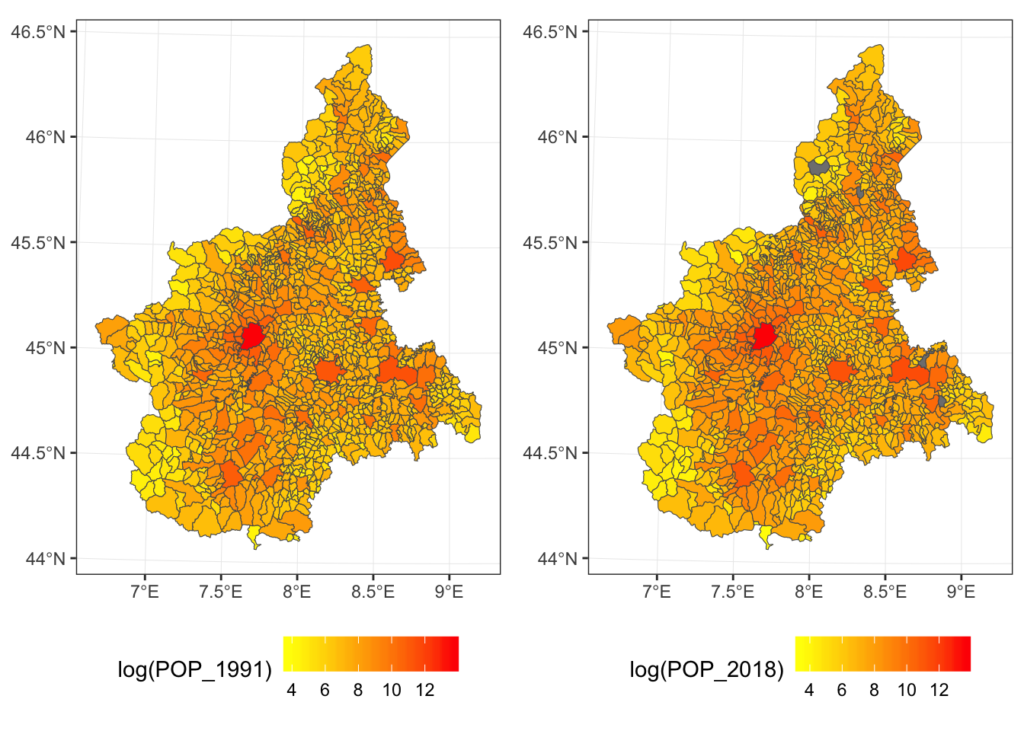 recogeo: A new R package to reconcile changing geographies boundaries (and corresponding variables)